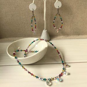 Emily Ray sparkling jewelry set